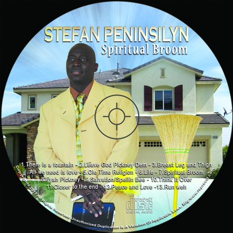 SpiritualBroom CD template